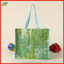 Recycle Cheap Customized Foldable Laminated Eco Friendly Fabric PP Woven Shopping Bag Bopp laminated pp woven bag