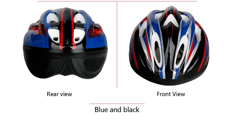 130g light weight Professional adjustable sports ski bike helmet for kids