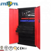 Tool Cabinet Manufacturer Two Door Tools Display Storage Steel Cupboard For Sale