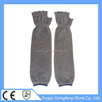 Alibaba China Full Arm Protective Glove with half finger