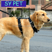 dog harness/ Security Heavy Duty Mesh Reflective Dog Harness/ High Quality Large Dogs Products Tough Strong Rivets/ dog harness