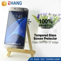 Wholesale !Tempered glass screen protector for samsung S7 edge
