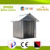 Pre-painted color coated roofing sheets metal dog house