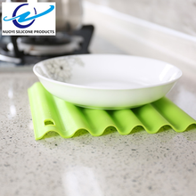 Kitchen Heat Resistant Silicone Rubber Table Mat/ Silicone Rubber Hot Pads