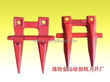 spare parts for claas rice combine harvester finger