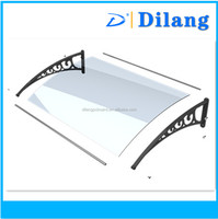 polycarbonate panel material for awning and canopy