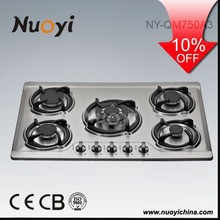 30inch Hot Sale High Quality 5 Burner Gas Cooker With Oven