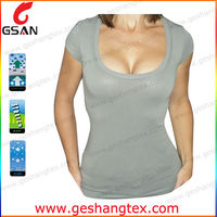Dri Fit lady tight spandex t shirt
