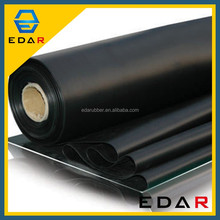 Styrene Butadiene 15Mm SBR rubber Widely Used Industrial Thickness White Sbr Rubber Sheet