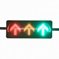 Road led traffic facility solar traffic light led countdown timer