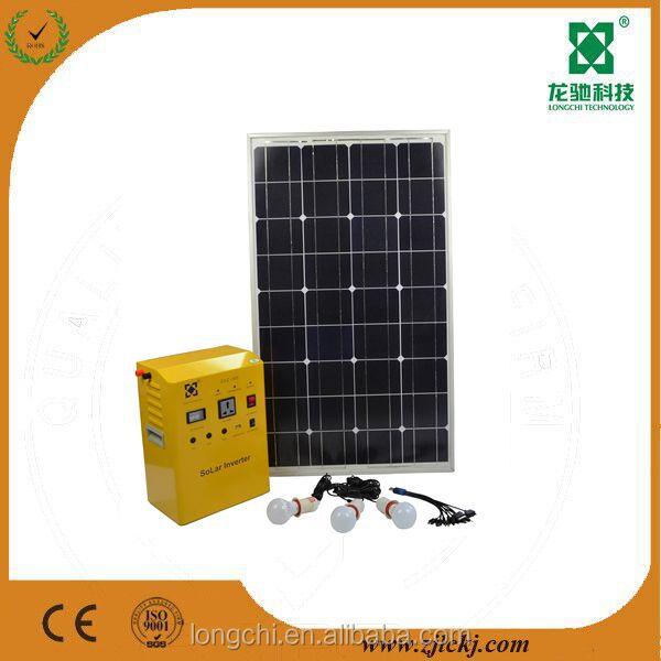 Factory Sale portable solar system 500W solar power DC and AC system used solar generators