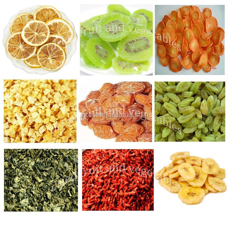 Capacity 100-400kg/h dehydrated vegetables onion fruit machine