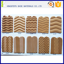 Crepe pattern shoes soles rubber material width 600mm length 1100mm thickness 3mm outsoles sheet KS-3011
