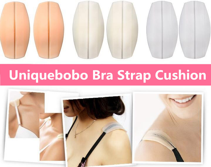 Bra Accessories Durable Washable 100% Silicone Anti-slip Bra Strap Cushions Bra Strap Shoulder Pad