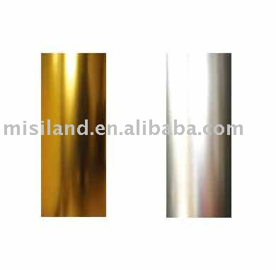 Inkjet Matte Silver/Gold PET photo printing / screen printing Film (Laser Film)