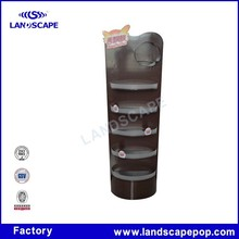 Flooring stainless steel display rack for retail shop and supermarket Milk Tea