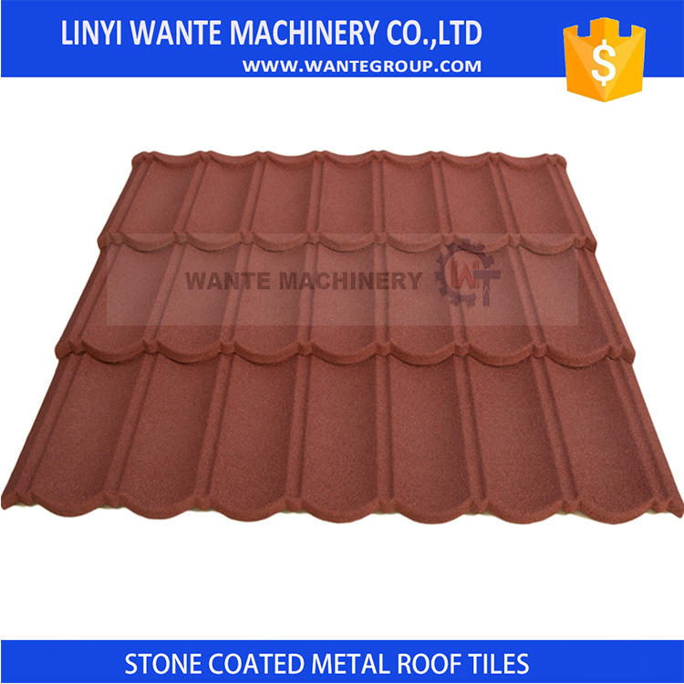 Brand new stone coated steel roofing shingles tile manufacturer