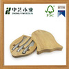 Promotional Customized handmade solid oak wooden knife gift box knives packaging boxes