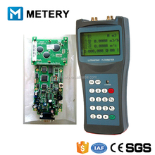 Ultrasonic water flow indicator controller