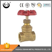 "Chinese professional factory high quality 1/2 inch handwheel brass stop sluice 5"" inch gate valve"