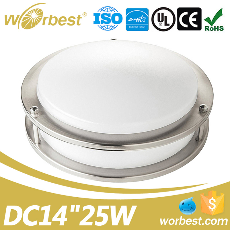 Worbest UL ES Certificated 14inch 25W Led Lighting Lamp Ceiling for Wholesale