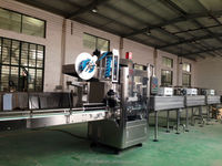 mineral water bottle shrink wrapping machine