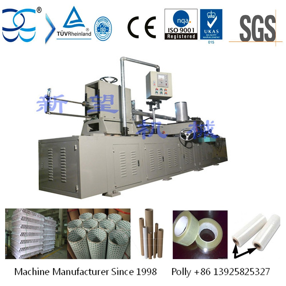 Automatic Spiral Cardboard Paper Tube Core Making Machine Winding Machine