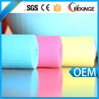 2016 contemporary beautiful multicolor pvc yoga mat with customized private label