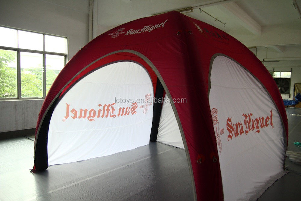 4 Meters Connecting Inflatables Dome Tent with logo