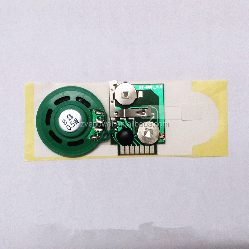 Voice recording module music box sound chip module