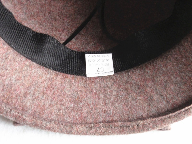handmade ladies wool felt hat