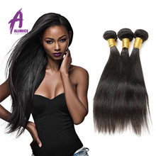 Large Stock Quick Delivery Virgin Hair10A Straight Human Peruvian Remy Hair