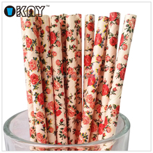 Handmade Product Fashion Paper Straw For Wedding Decoration