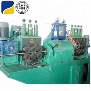 Steel bar peeling centerless machine