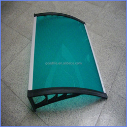 DIY lowes polycarbonate panels roofing sheet for personal use