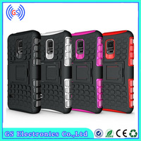 2 in 1 combo robot PC Hard silicone soft case for samsung galaxy s3 mini