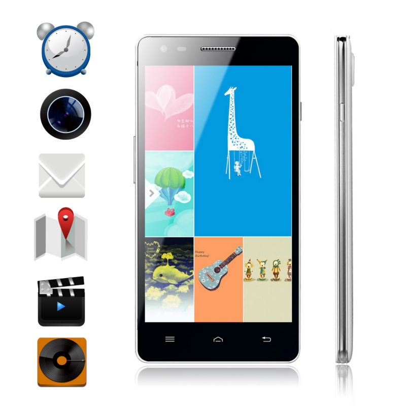 ShenZhen Mobile Phone Manufactures vkworld vk1000 RAM 1G ROM 4G 2MP+8MP Camera 5 inch Big Screen Android 4.2 4G Mobile Phone