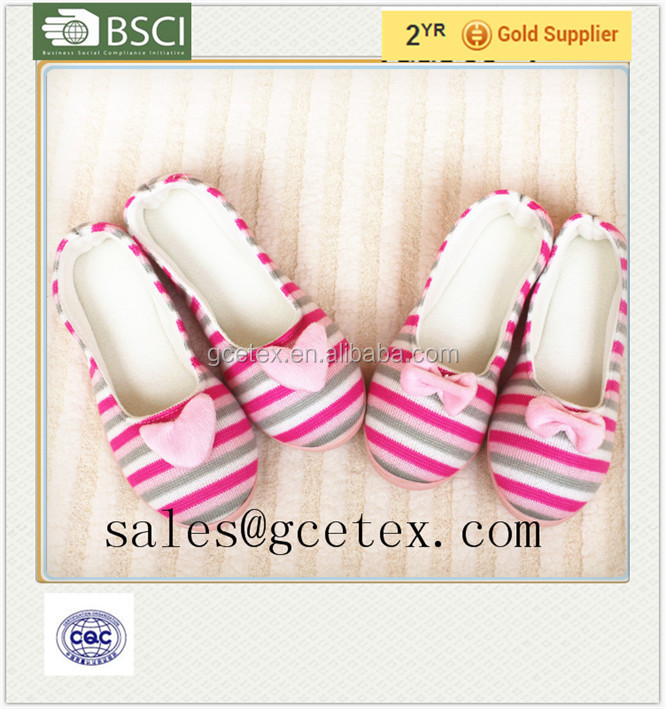 Pretty lovely fleece fabric massage indoor japanese slippers