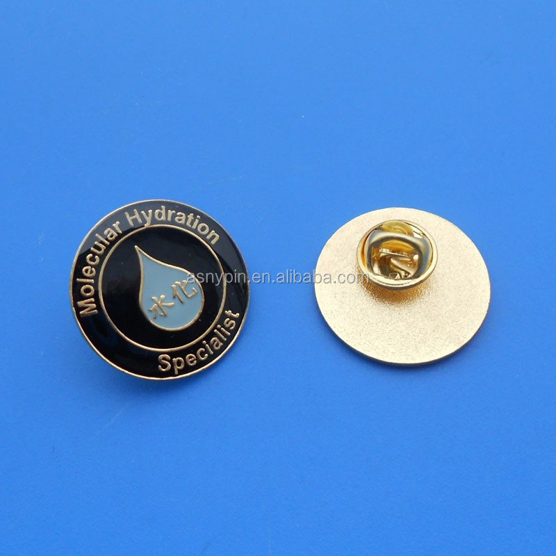 customized lapel pin manufacturers china, water drop lapel pin emblem/ badge