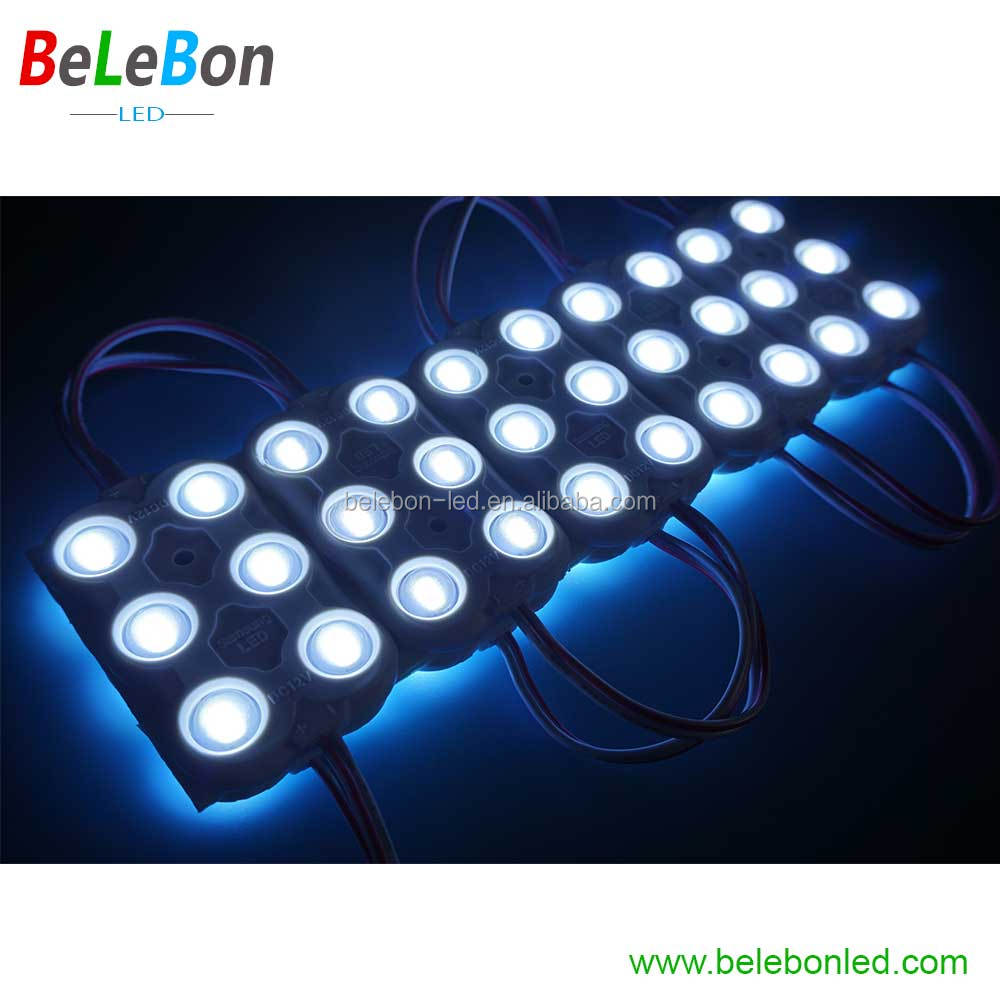 PCB LED Building 68X45mm ABS Plastic Injection 5050 Single color led modules