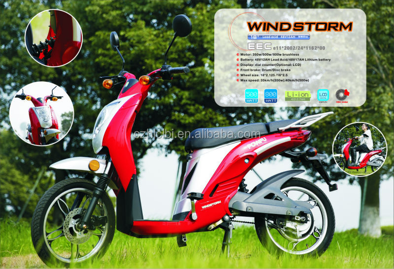 Changzhou Factory wholesale electric scooter --EEC approved 36v eco-friendly kids electric motorcyle