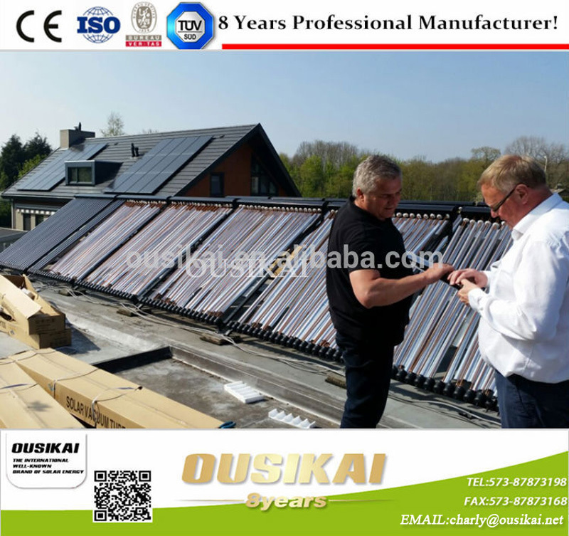 U pipe solar collector