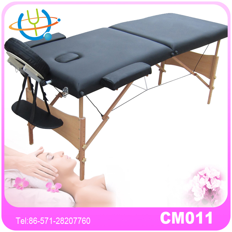 Professional Treatment Bed Portable Massage Table with Free extension headrest&armrest