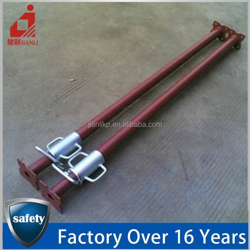 Guangdong Factory Wholesale Different Sizes Steel Height Adjustable Scaffolding Props In Building For Sale