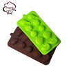 BPA Free Silicone Chocolate Molds & Candy Molds,Shells Mini Wax Molds,Cake Decoration