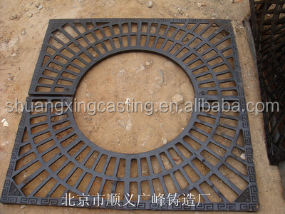 cast iron tree grates/gratings