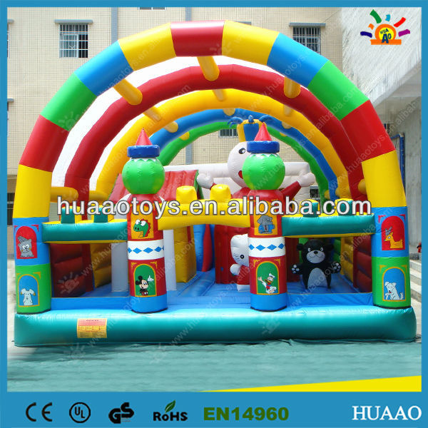 Popular inflatable fun city toy