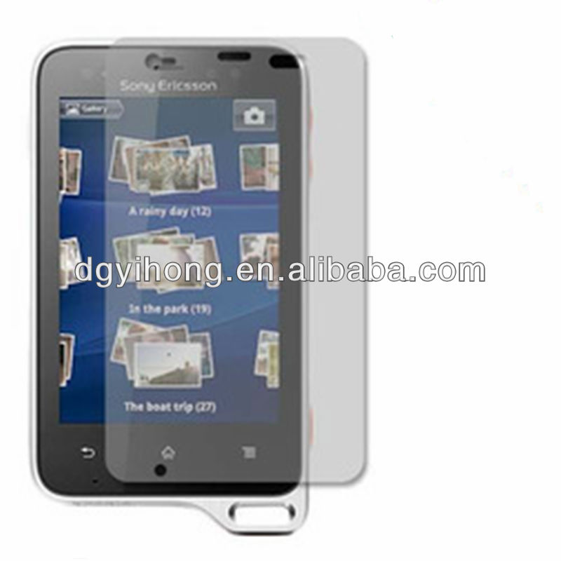 High quality screen protector for Sony Ericsson Xperia X10