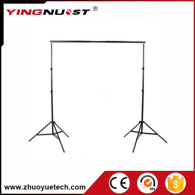 Photography Lightings Equipment 2m Light Stand 2m Aluminum Crossbars Photo Studio Tripod Background Support Stand