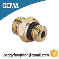 1CH/1DH hydraulic adapter and connections for high pressure hose hydraulic fittings double pipe nipple